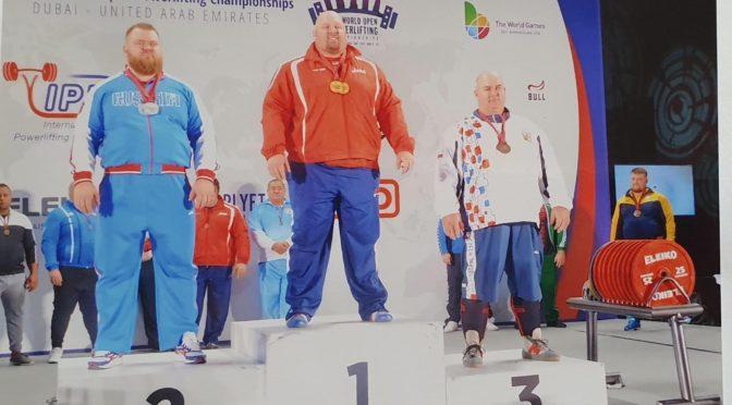 Mistrovství světa v silovém trojboji mužů a žen v Dubaji 18.-23.11.2019