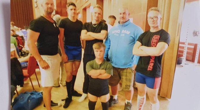 Mistrovství Čech v silovém trojboji RAW ve Stankově 2019