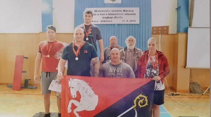 Mistrovství severní Moravy mužů a žen v klasickém silovém trojboji (RAW) v Ostravě-Vítkovicích 21. 9. 2019