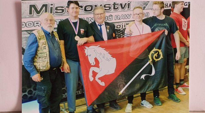 Mistrovství ČR v silovém trojboji RAW dorostu a juniorů v Sedlčanech – 12. 10. 2019